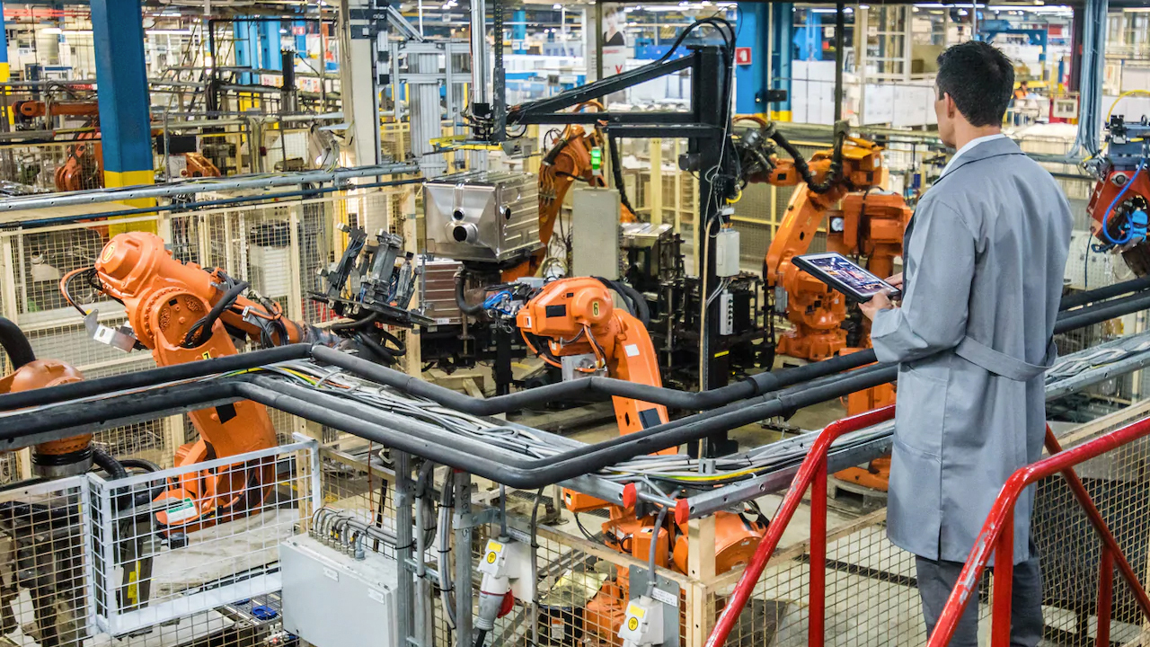 Tipos de robôs industriais e suas aplicações